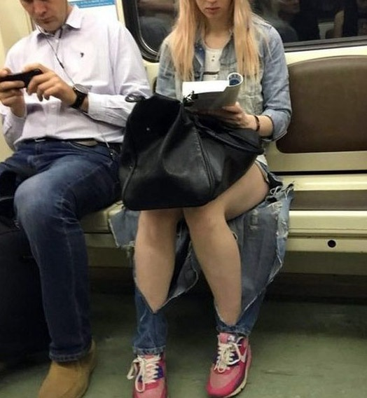 Фото прикол  про одежду и джинсы