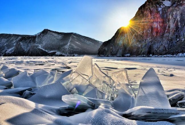 Фото прикол  про лед и зиму