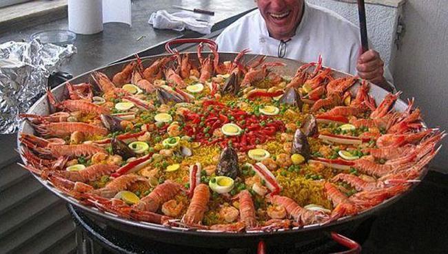 Фото прикол  про омаров и еду