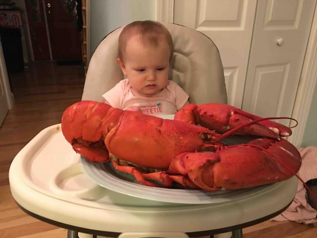 Фото прикол  про омаров и детей