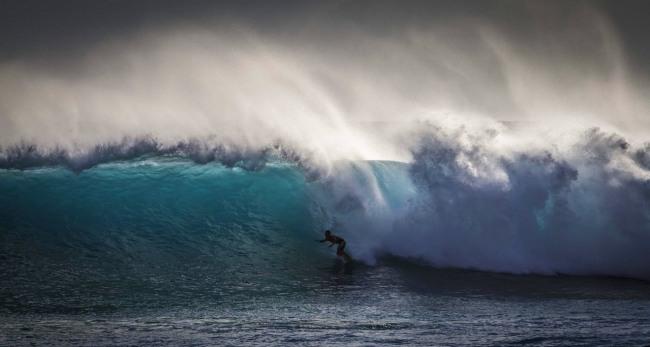 Фото прикол  про волну и серфинг