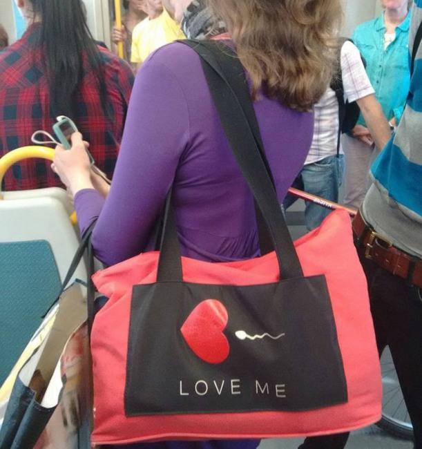 Фото прикол  про женскую сумочку