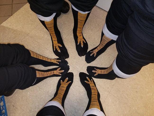 Фото прикол  про носки
