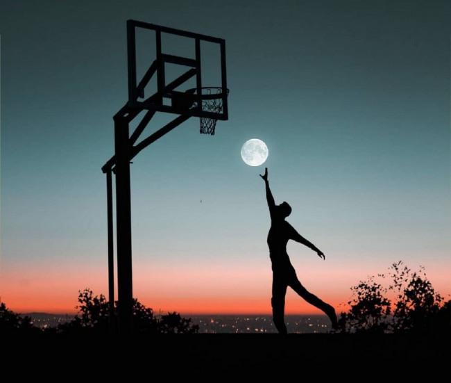 Фото прикол  про баскетболистов