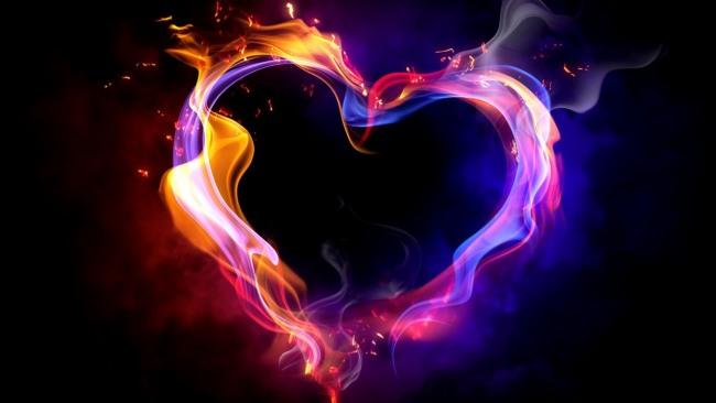 Фото прикол  про романтику, огонь и валентинку
