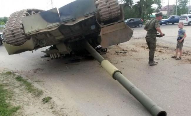 Фото прикол  про танк