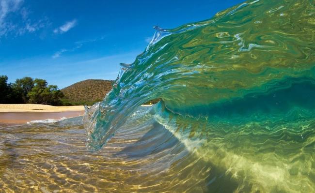 Фото прикол  про волну