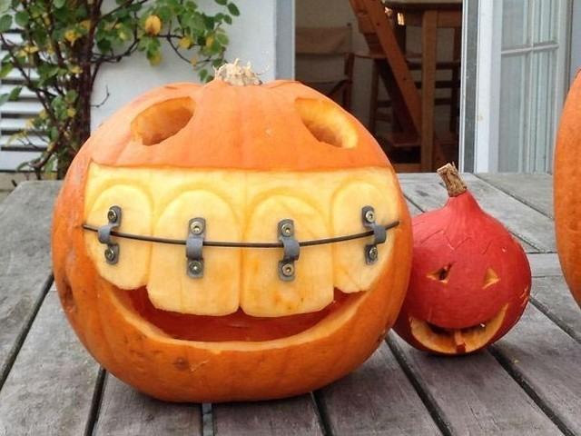 Фото прикол  про хэллоуин и тыкву