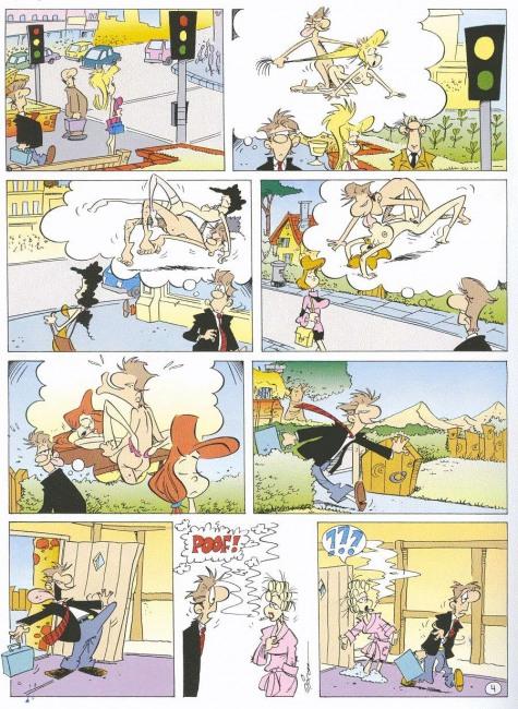Картинка  про секс, воображение комикс