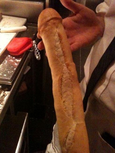 Фото прикол  про хлеб