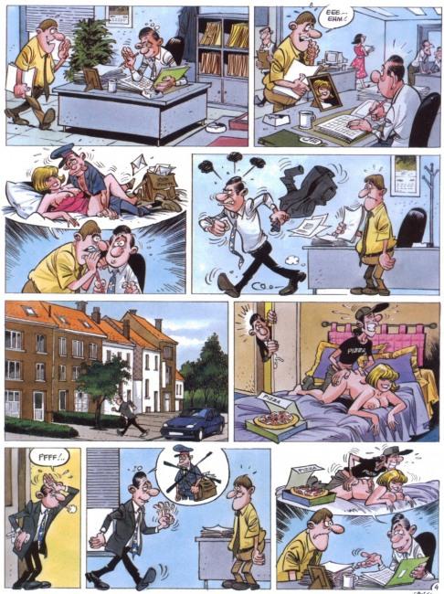 Картинка  про супружескую неверность, секс, пошлая комикс