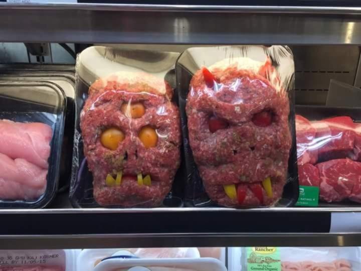 Картинка мясо прикол, дружбой