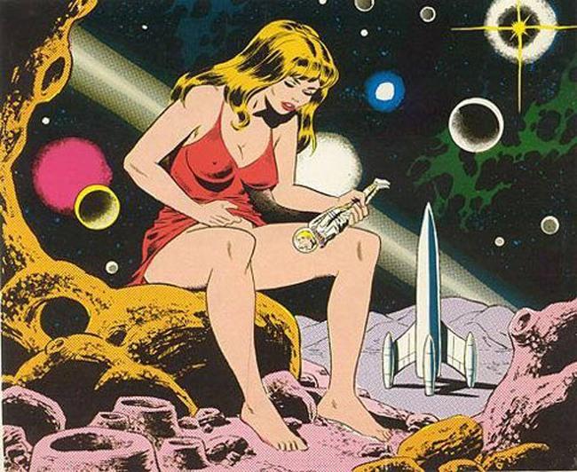 Картинка  про космонавтов, мастурбацию пошлая