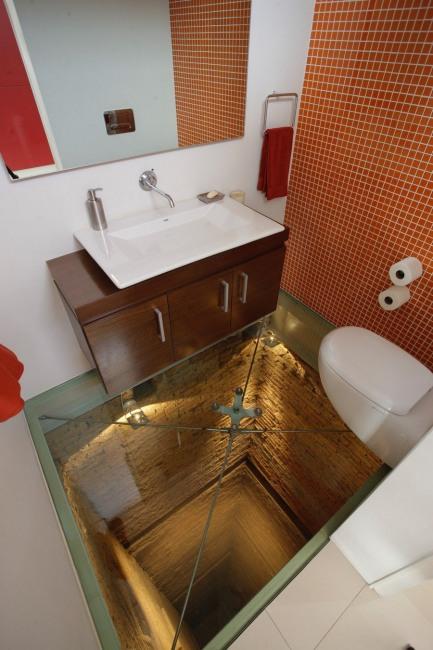 Фото прикол  про туалет и полы