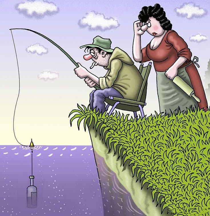 Карикатуры юмор картинки прикольные