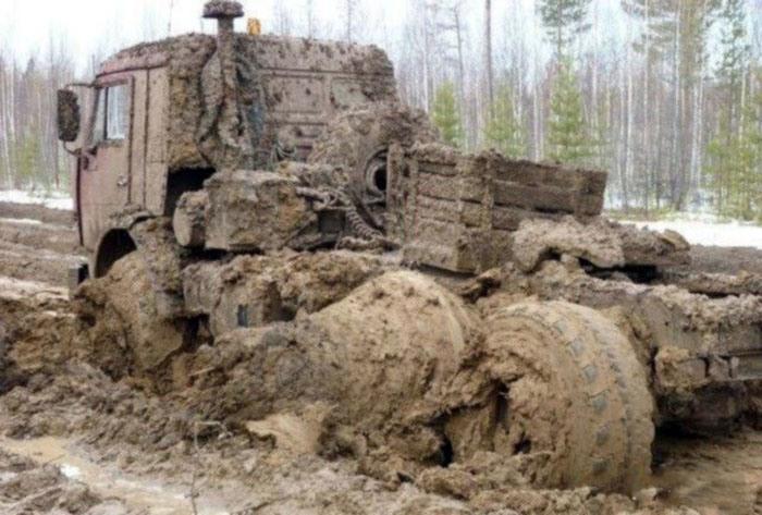 Фото прикол  про грязь