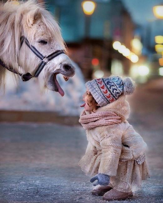 Фото прикол  про пони и детей