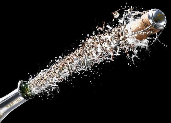 Фото прикол  про шампанское вино