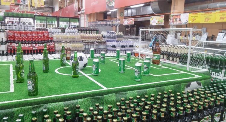 Фото прикол  про пиво и футбол