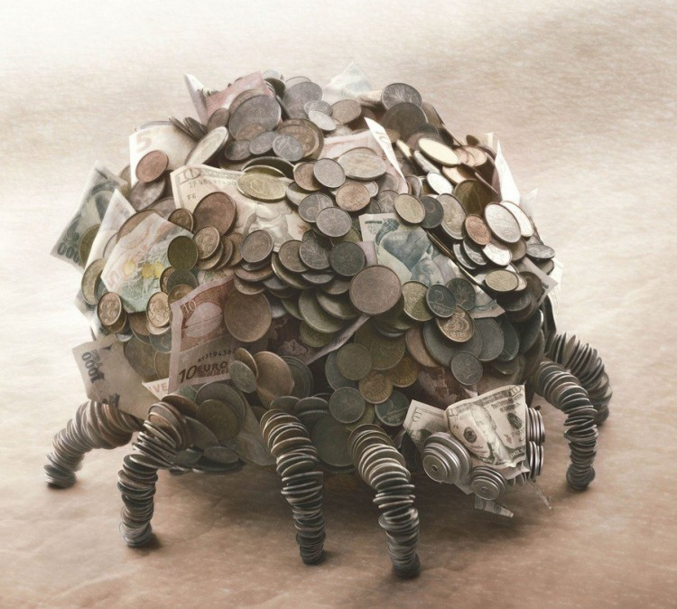 Фото прикол  про деньги