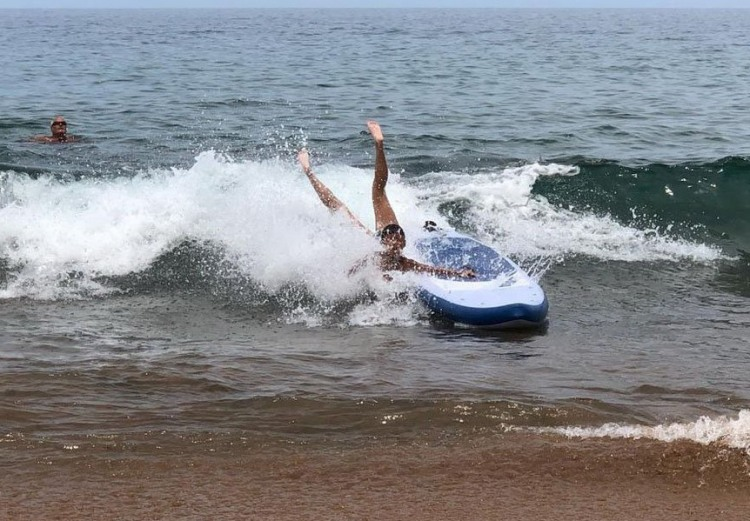 Фото прикол  про серфинг