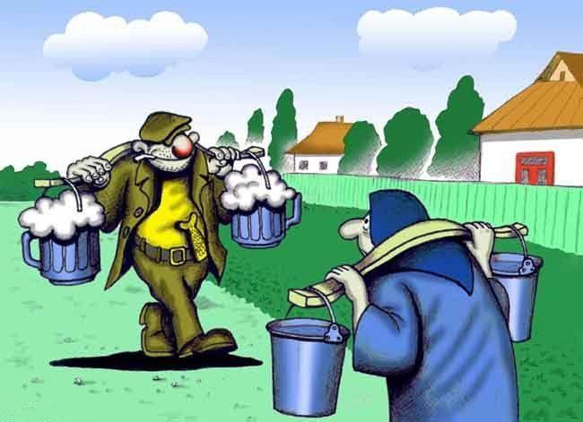 Картинка  про алкоголиков