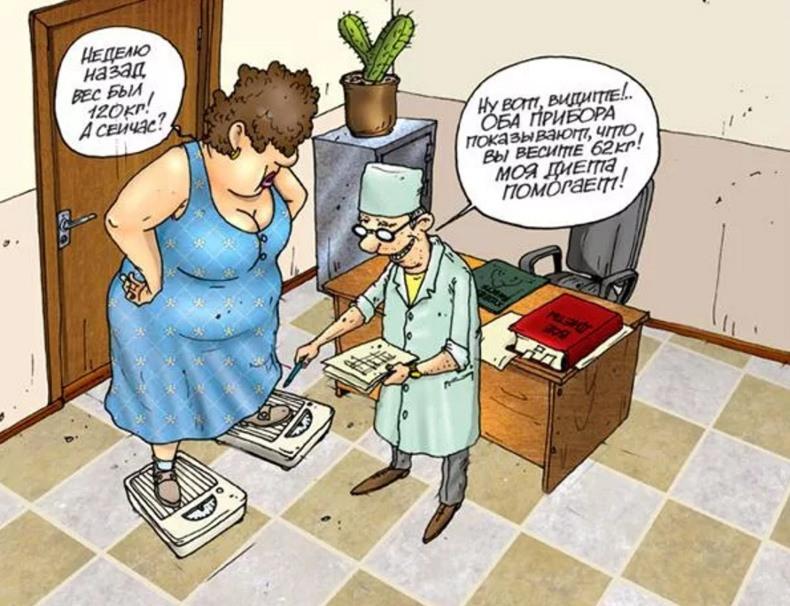 О похудении с юмором картинки