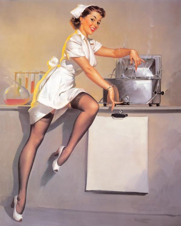 Картинка  про медсестру и эротику