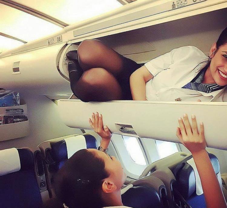 Фото прикол  про стюардесс