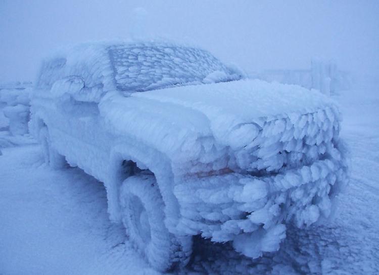 Фото прикол  про зиму и автомобили