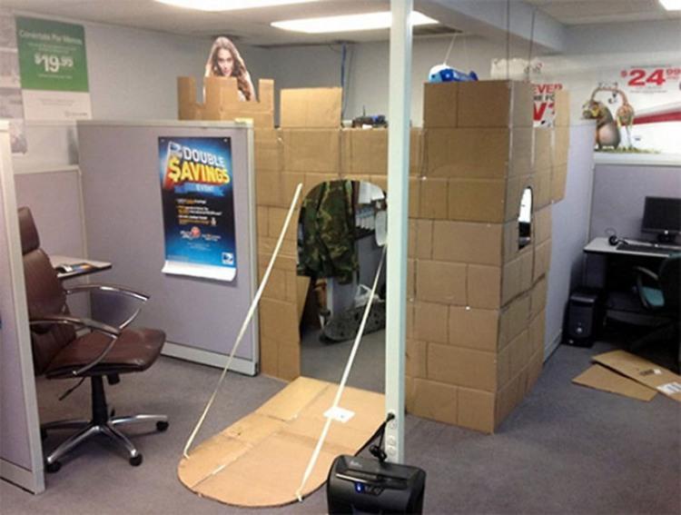 Фото прикол  про офис