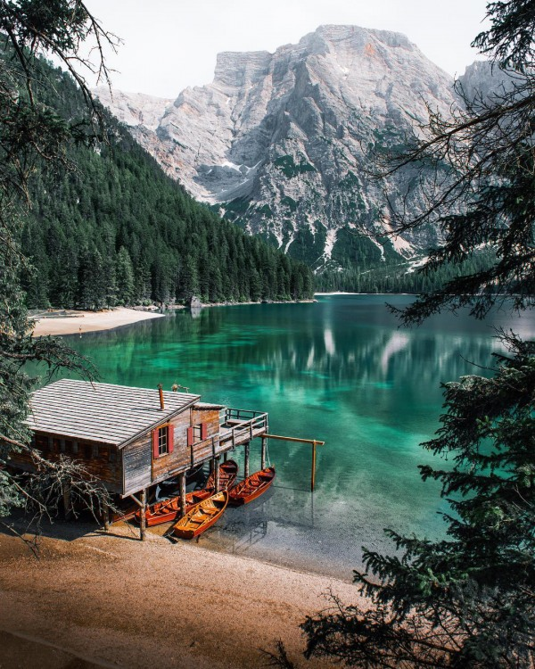Фото прикол  про озеро