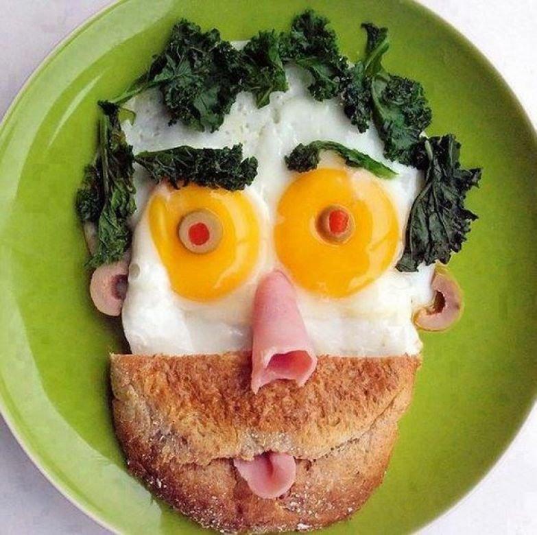 Смешная еда фото