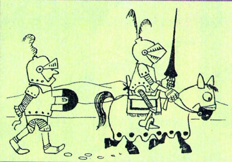 Картинка  про рыцарей