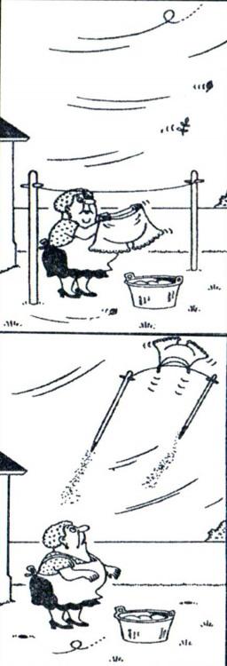 Картинка  про бельё