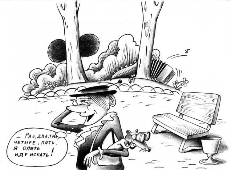 Картинка  про прятки, шапокляк, чебурашку и крокодила гену