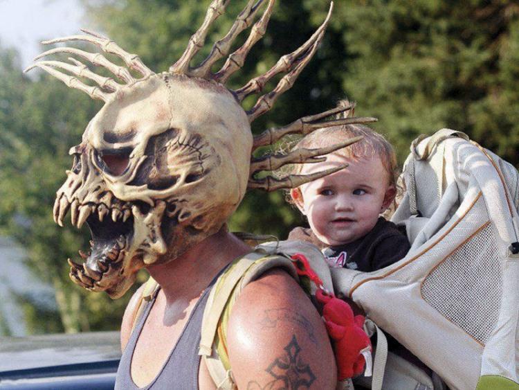 Фото прикол  про шлем, детей черный