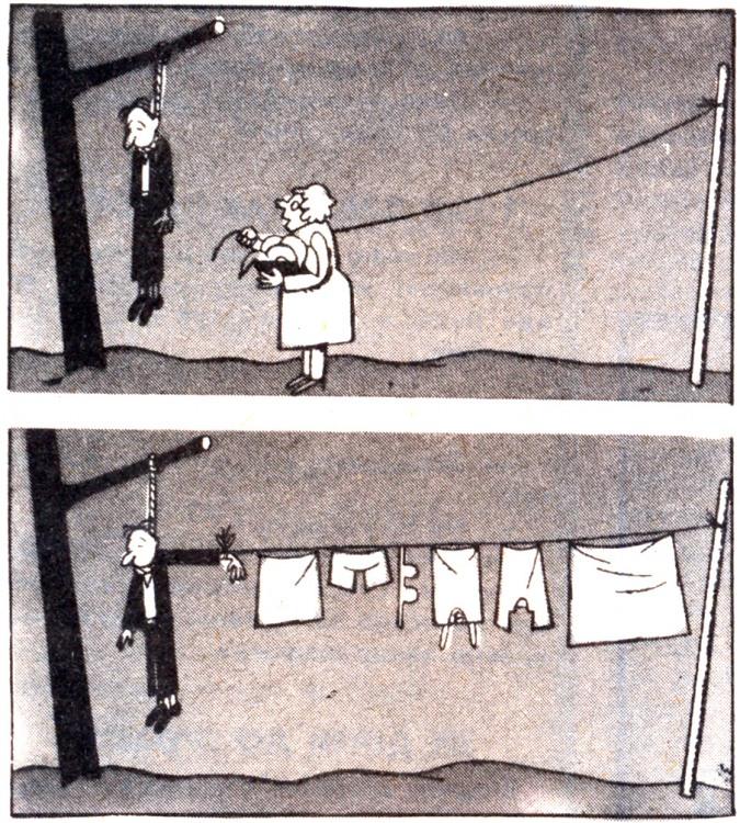 Картинка  про самоубийство, бельё, циничная, жестокий черная
