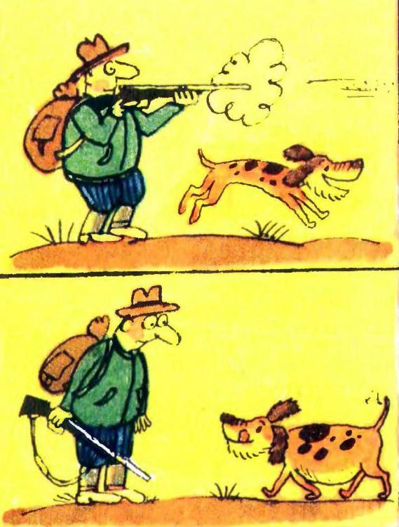 Картинка  про охоту, охотников и собак