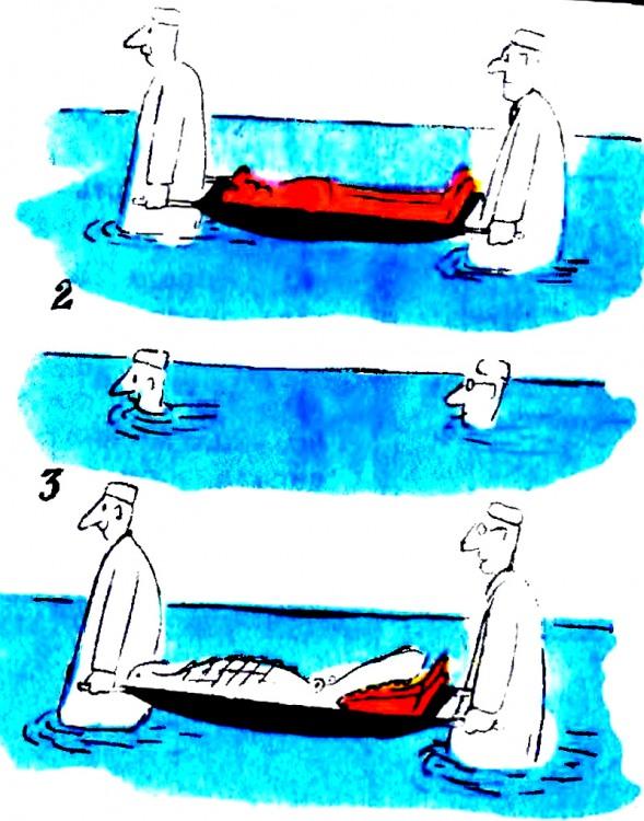 Картинка  про санитаров, крокодилов черный