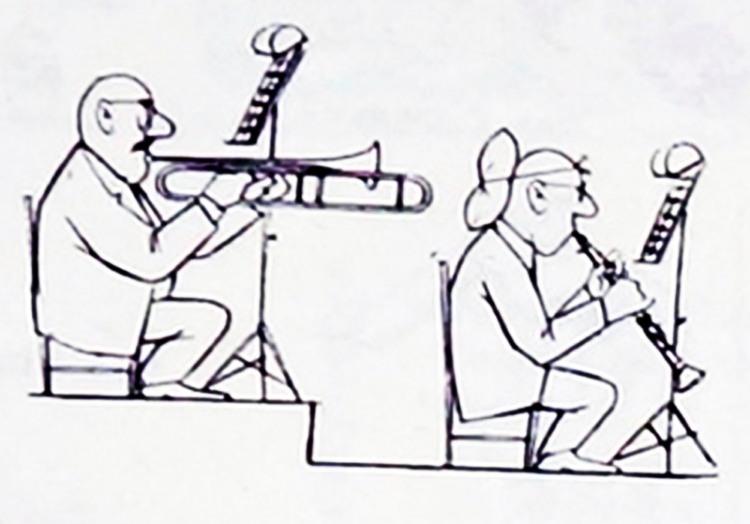 Картинка  про музыкантов