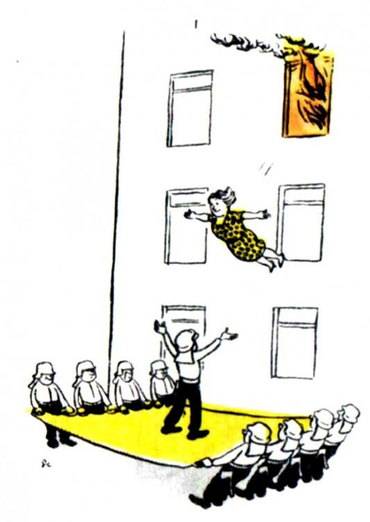 Картинка  про пожар и пожарных