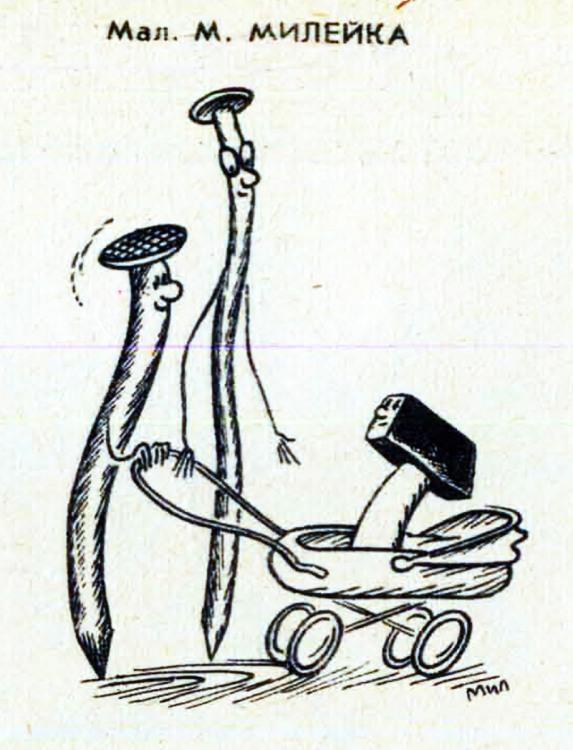 Картинка  про гвозди и молоток