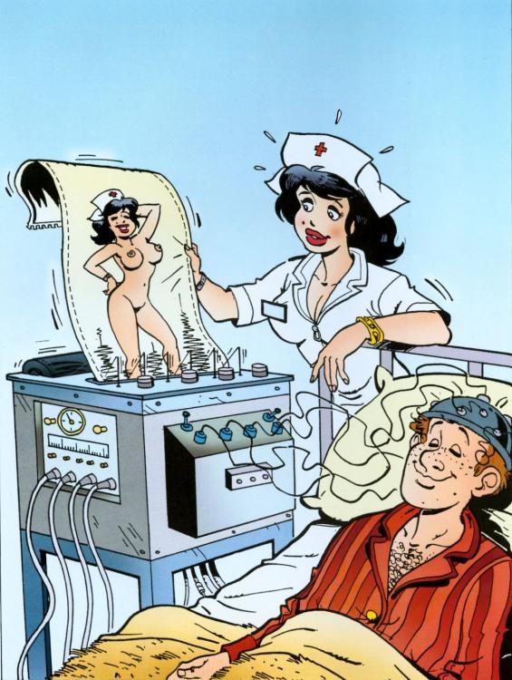 Картинка  про мысли, медсестру, интимная пошлая
