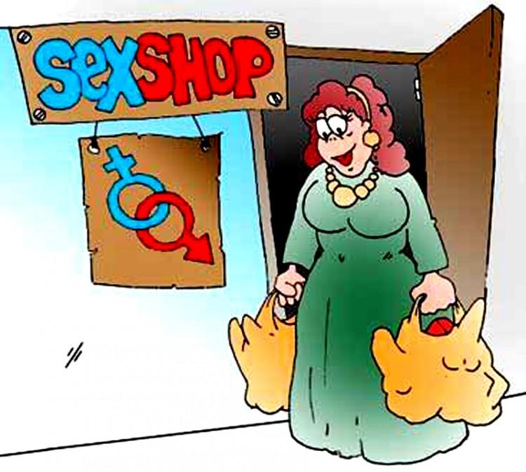 Картинка  про секс шоп