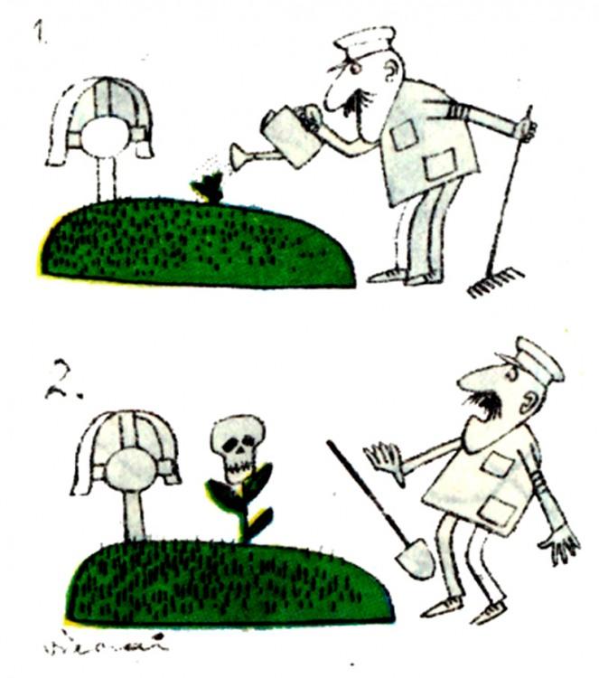 Картинка  про кладбище, цветы черный