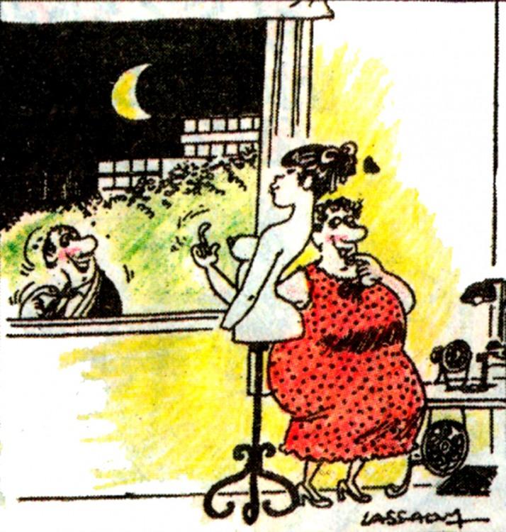Картинка  про мужчин, женщин, соблазнение пошлая