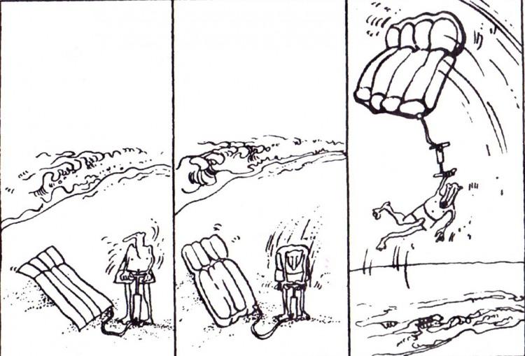 Картинка  про матрас комикс