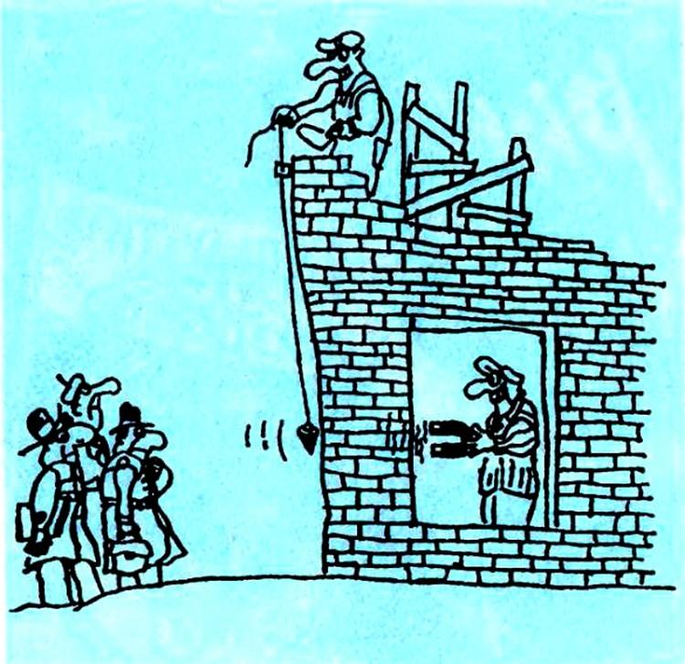 Картинка  про строителей