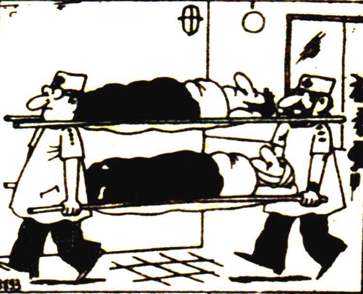 Картинка  про санитаров